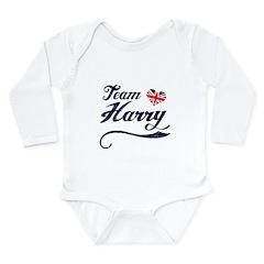 Team Harry Long Sleeve Infant Bodysuit