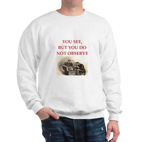 sherlock holmes Sweatshirt