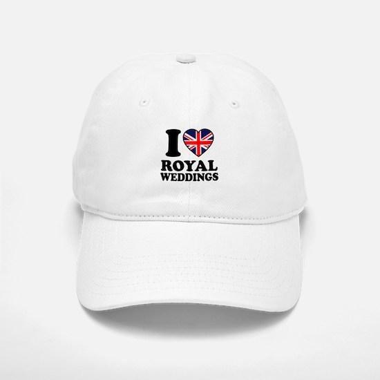 I Love Royal Weddings Baseball Baseball Cap