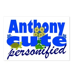 Cute Anthony Postcards (Package of 8)