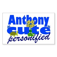 Cute Anthony Decal