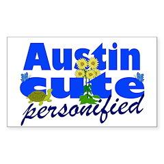 Cute Austin Decal