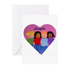 Love People Greeting Cards (Pk of 10)
