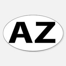 Oval decal representing your Decal