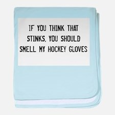 Smell My Gloves baby blanket