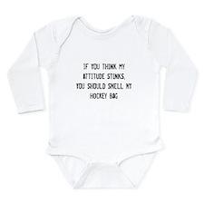 Attitude (Bag) Long Sleeve Infant Bodysuit