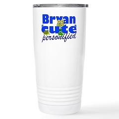 Cute Bryan Travel Mug