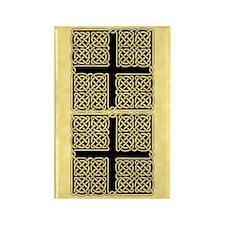 Celtic Square Cross Rectangle Magnet