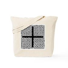 Celtic Square Cross Tote Bag