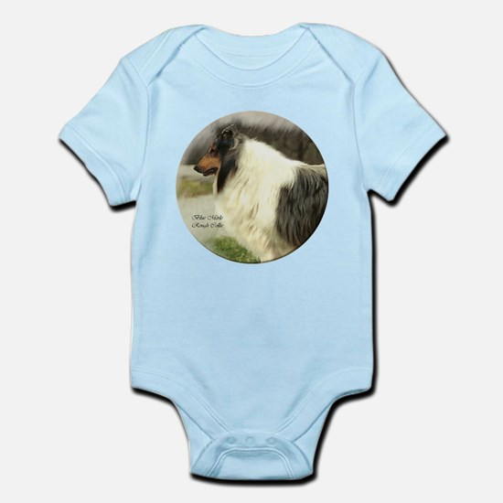Blue Merle Collie Infant Creeper