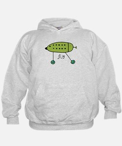Green Fly Babe Hoodie