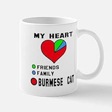 My Heart Friends Family Burmese Mug