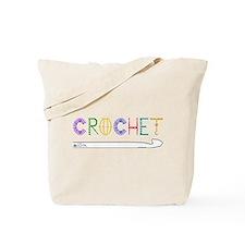 Funny Crochet Tote Bag