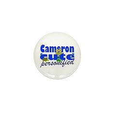 Cute Cameron Mini Button