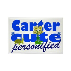 Cute Carter Rectangle Magnet
