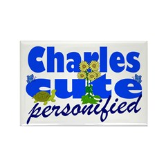 Cute Charles Rectangle Magnet (100 pack)