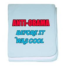 Anti-Obama Cool baby blanket
