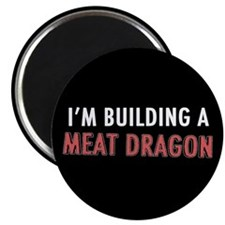 Meat Dragon Magnet