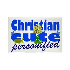 Cute Christian Rectangle Magnet (100 pack)