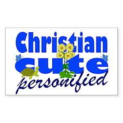 Cute Christian Decal