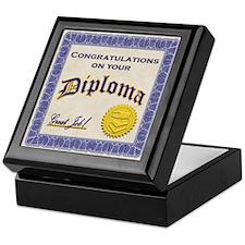 Diploma Graduation Keepsake Box