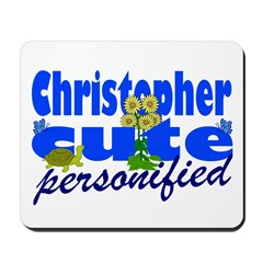 Cute Christopher Mousepad