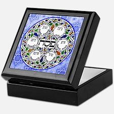 Passover Seder Plate Keepsake Box