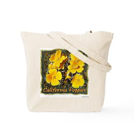 California Poppies tote bag