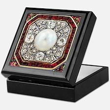 Ruby Ring Keepsake Box