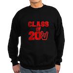 Class of 2011 Rocks Red Sweatshirt (dark)
