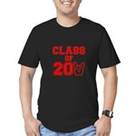 Class of 2011 Rocks Red Men's Fitted T-Shirt (dark