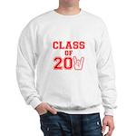 Class of 2011 Rocks Red Sweatshirt