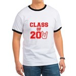 Class of 2011 Rocks Red Ringer T