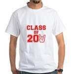 Class of 2011 Rocks Red White T-Shirt