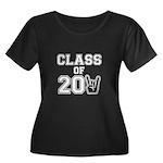 Class of 2011 Rocks White Women's Plus Size Scoop