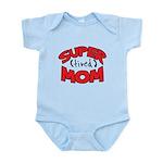 Super Tired Mom Infant Bodysuit