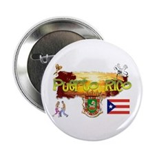 "Puerto Rico 2.25"" Button (10 pack)"