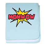 Mom Wow baby blanket