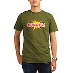 Mom Wow Organic Men's T-Shirt (dark)