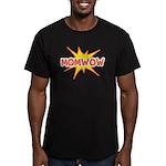 Mom Wow Men's Fitted T-Shirt (dark)