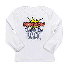 Mom Wow Clean Long Sleeve Infant T-Shirt