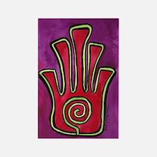 Spiral Hamsa Rectangle Magnet (10 pack)