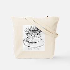 crazy cake Tote Bag