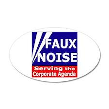 Fox News - Faux Noise 22x14 Oval Wall Peel