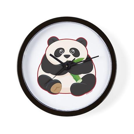 Fat Panda Wall Clock