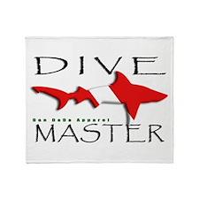 Dive Master Throw Blanket
