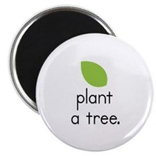 """Plant a Tree"" (leaf) Magnet"