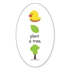 """""""Plant a Tree"""" Decal"""