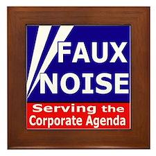 Fox News - Faux Noise Framed Tile