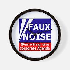 Fox News - Faux Noise Wall Clock